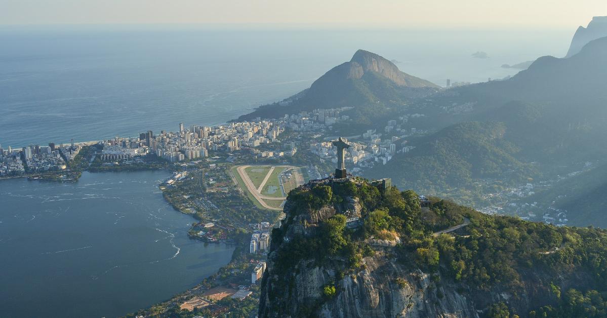 Une vue de Rio de Janeiro, Brésil