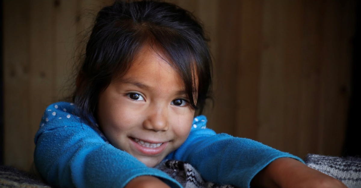 A young Indigenous girl