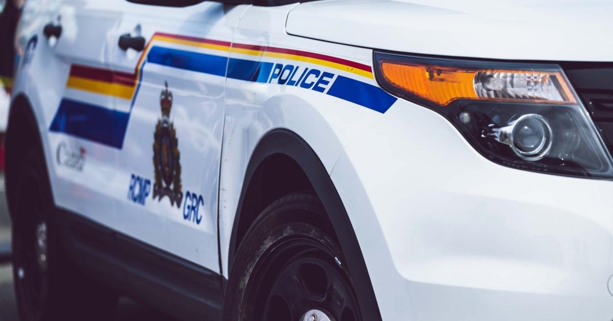 A RCMP police car.