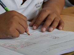 Math class student