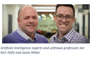 AI experts Ian Kerr and Jason Millar