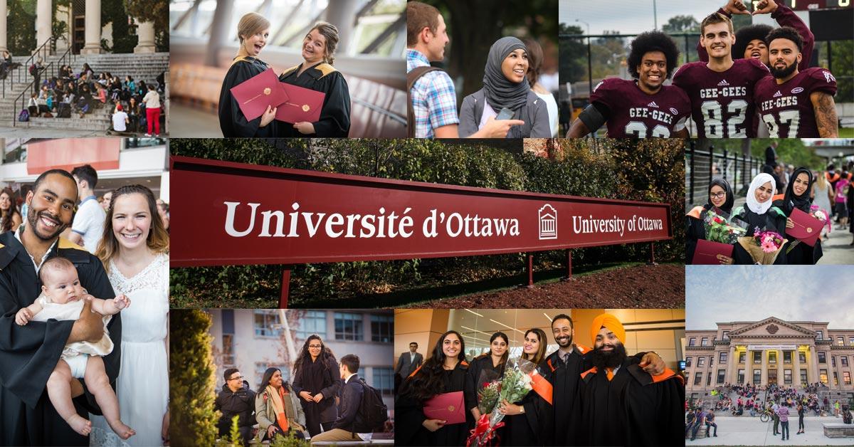 Collage d'étudiants de l'Université d'Ottawa