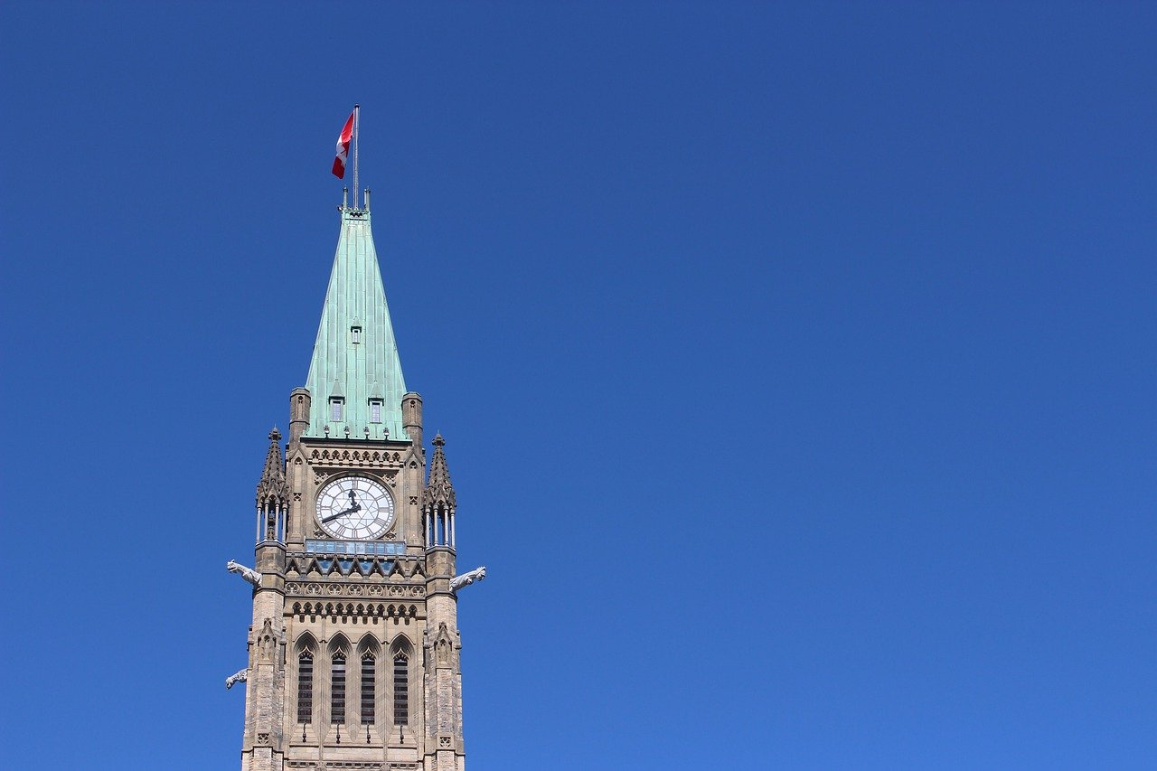 Parliament of Canada clock tower