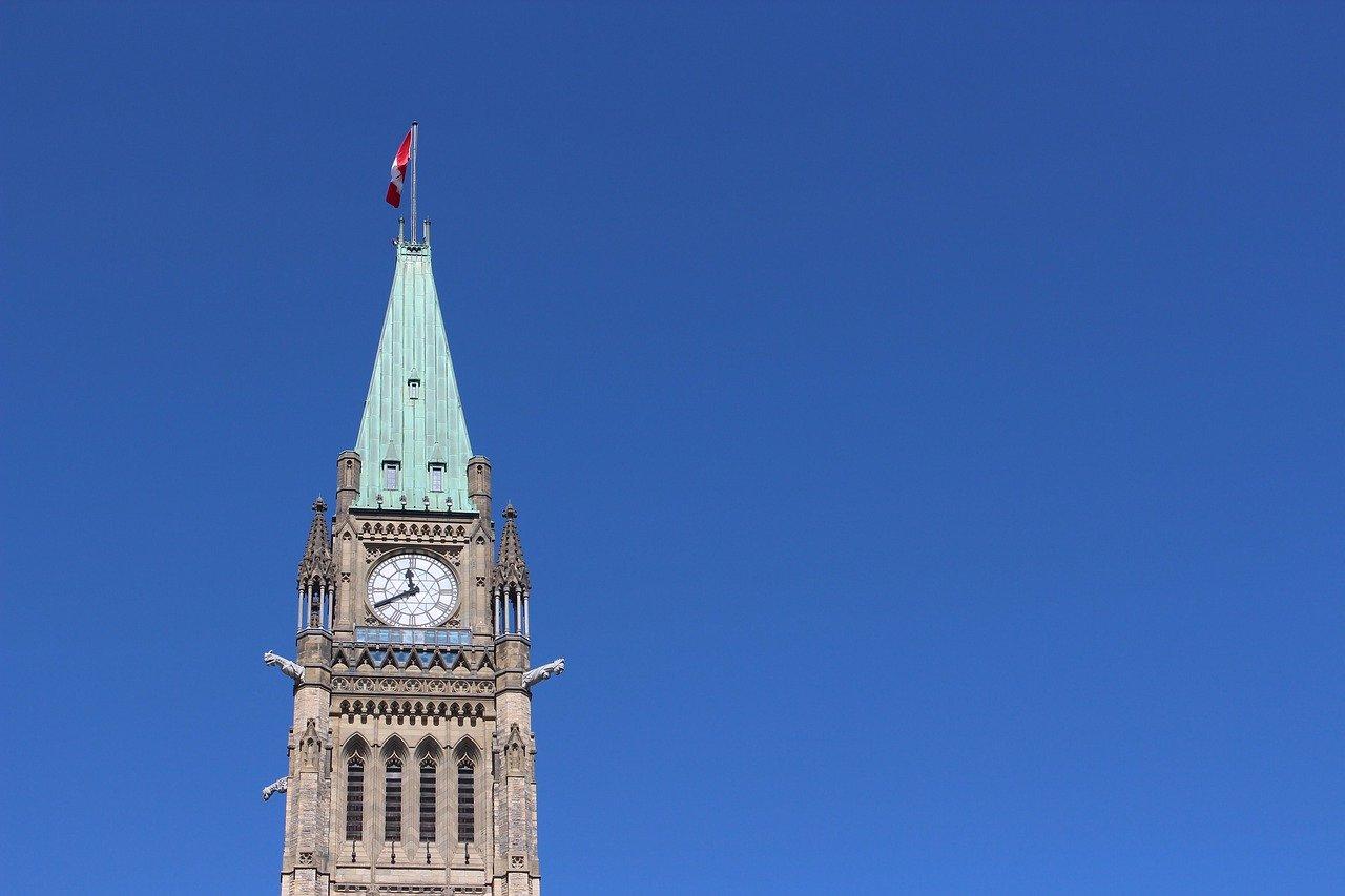 Tour de l'horloge du Parlement du Canada
