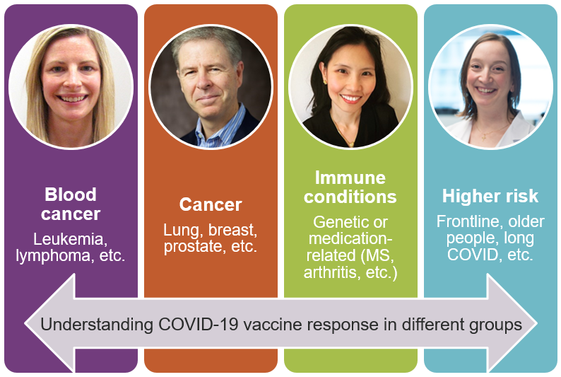 Graphic featuring the four researchers of this study