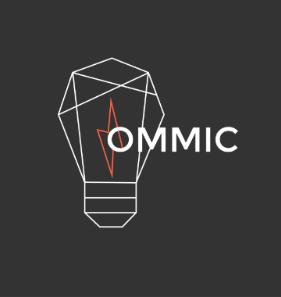 Logo OMMIC, montrant une ampoule
