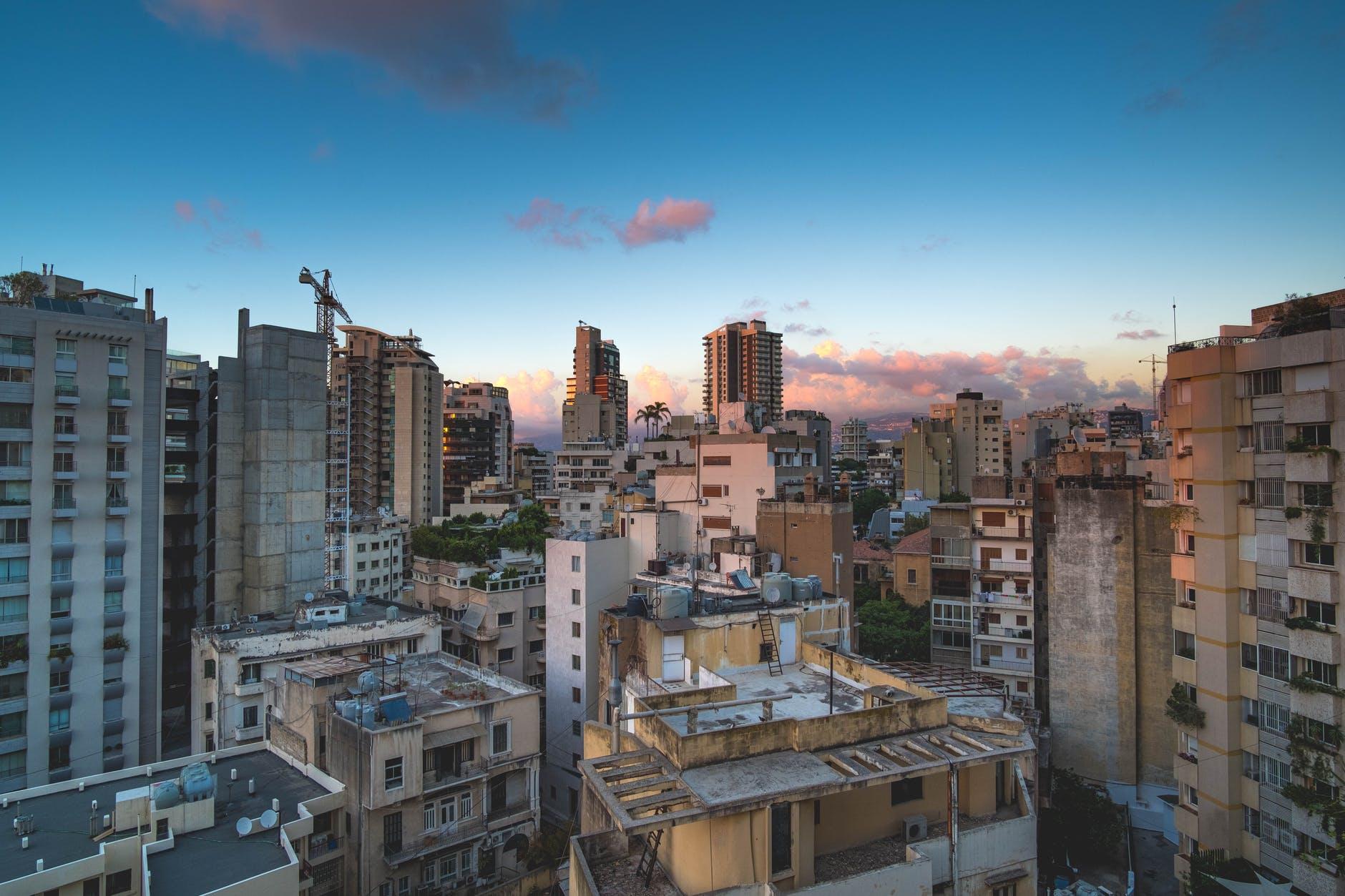 City of Beirut in Lebanon