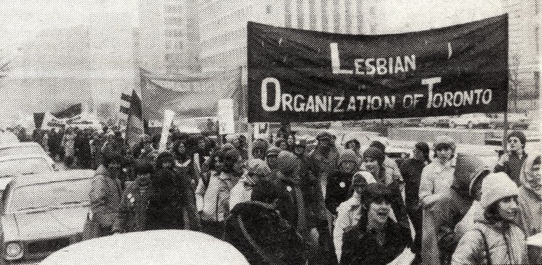 Picture of the Lesbian organization of Toronto