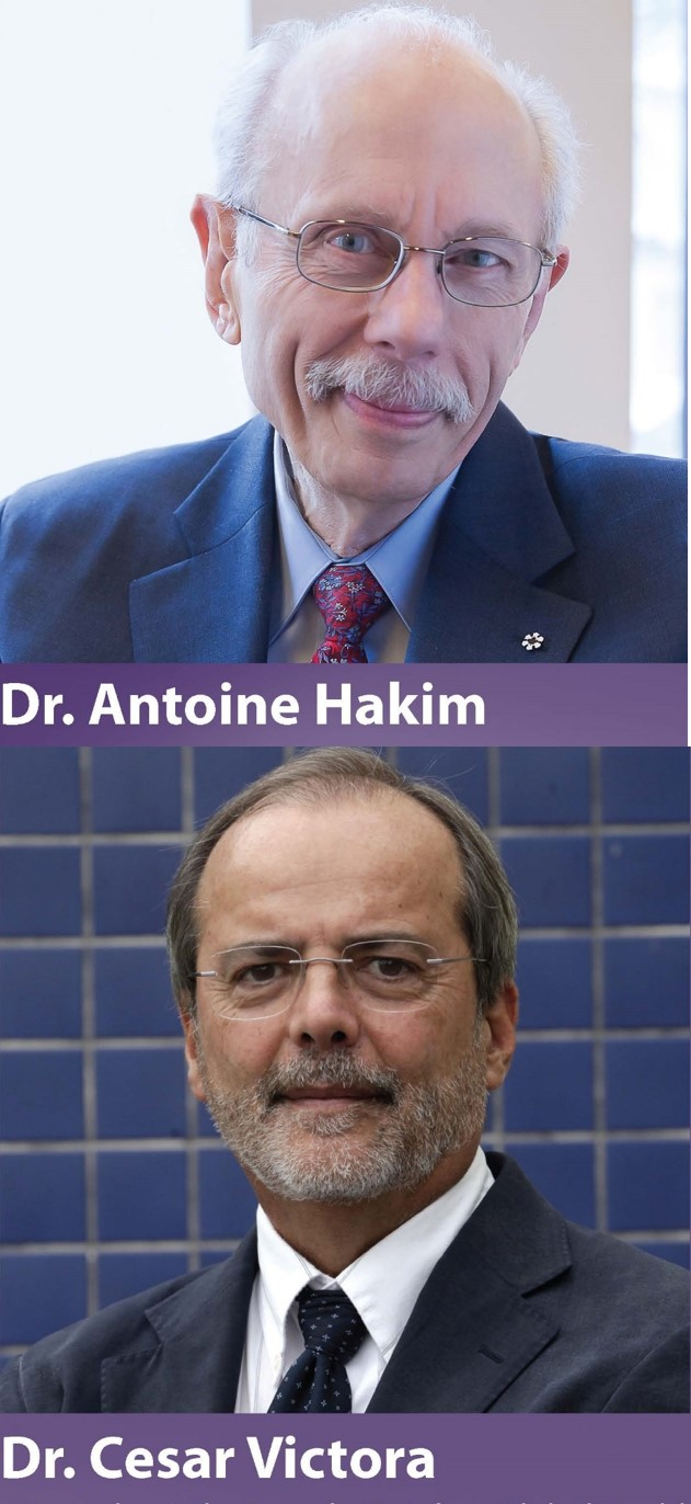Dr. Antoine Hakim and Dr. Cesar Victora