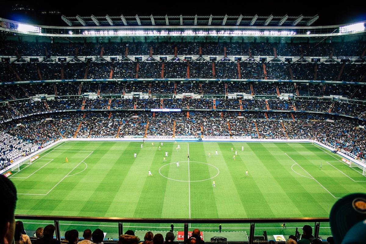 Santiago Bernabeu soccer stadium